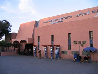 Marrakech Bus Station (Bab Doukkala)