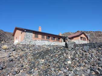 Refugio Altavista on Mount Teide