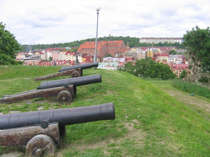 Skansen Kronan cannons