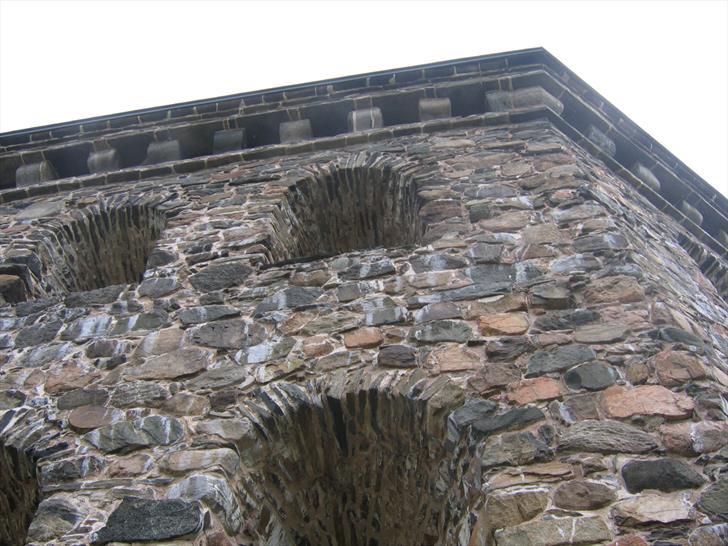 Skansen Kronan wall