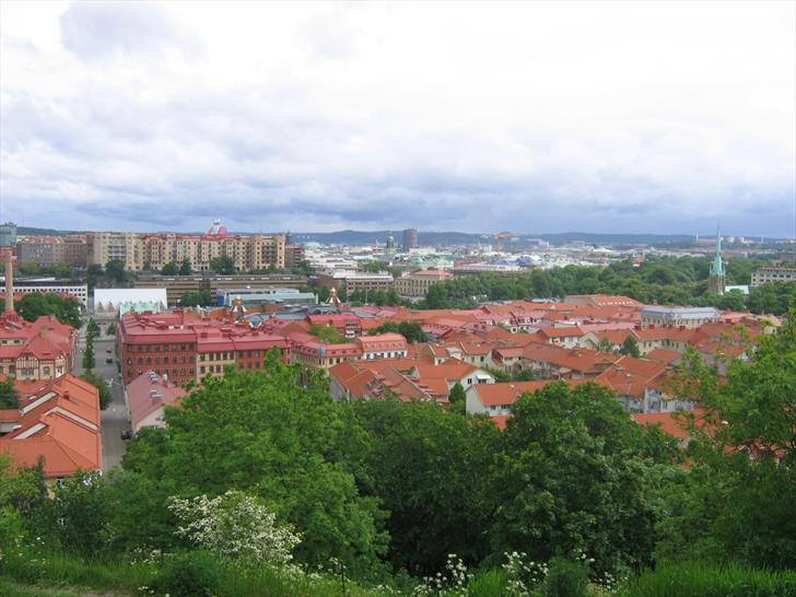 Gothenburg from Skansen Kronan