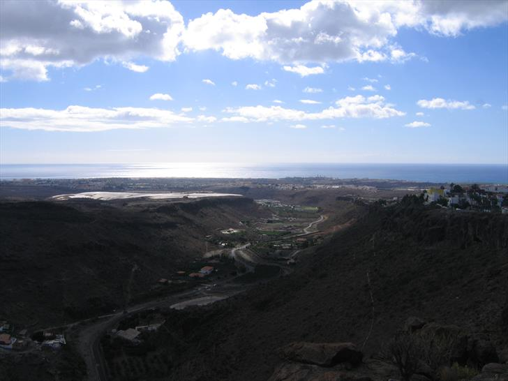 Barranco de Ayagaures and Playa del Inglés