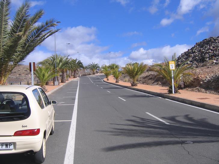 GC-503 in Roca Negra, Gran Canaria