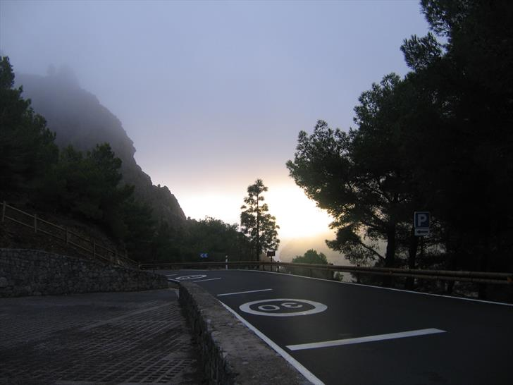 Roque Nublo parking