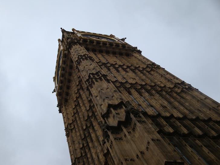 Big Ben from the Bottom