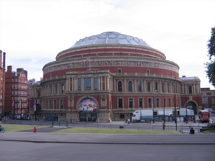 Royal Albert Hall as seen from Albert Memorial