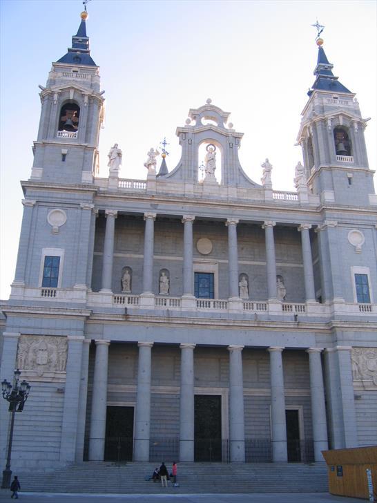 Almudena Cathedral entrance