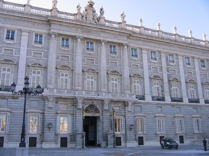 Madrid Royal Palace, Calle de Bailen