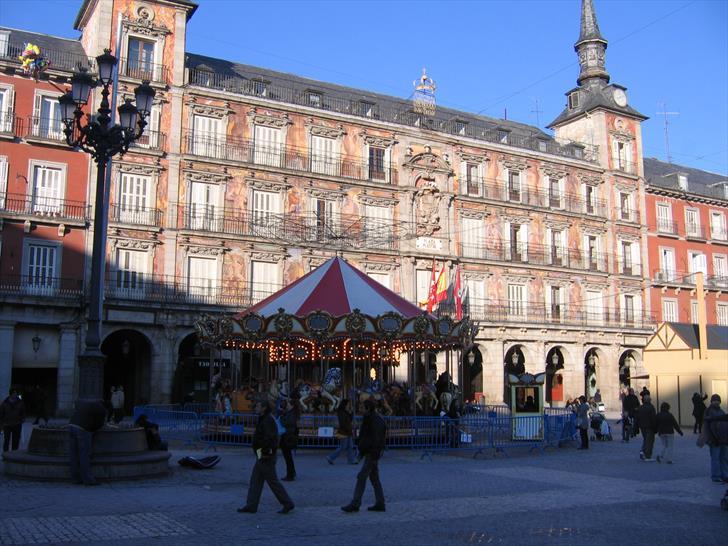 Casa de la Panadería at Plaza Mayor