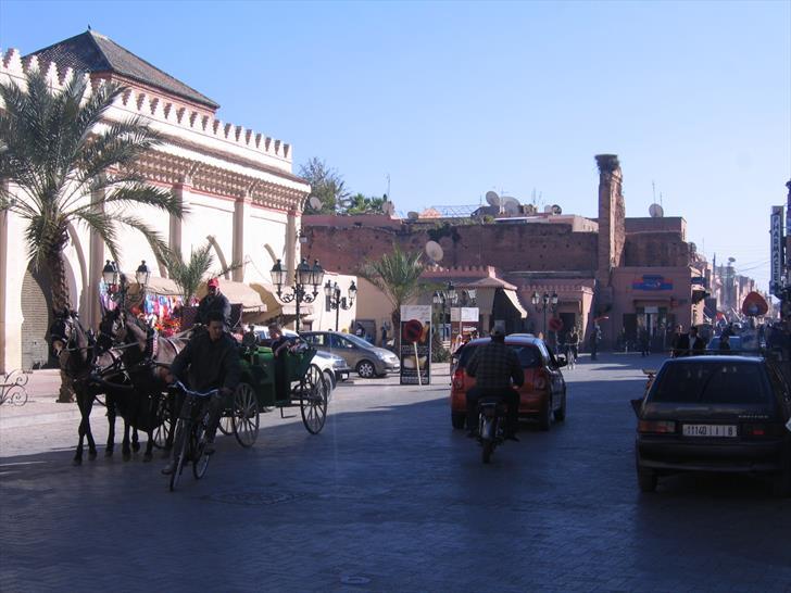 Rue de la Kasbah, Marrakech