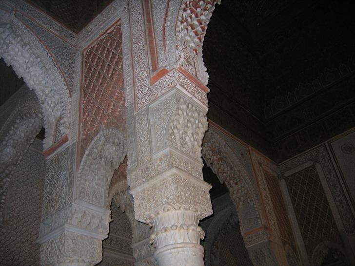 Saadian Tombs interior