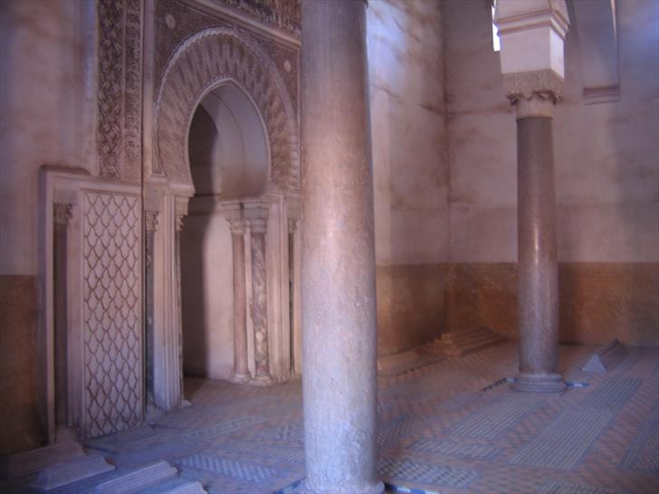 Mausoleum in the Saadian Tombs