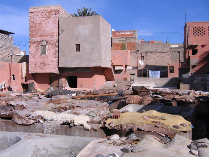 Tanneries, Marrakech Medina