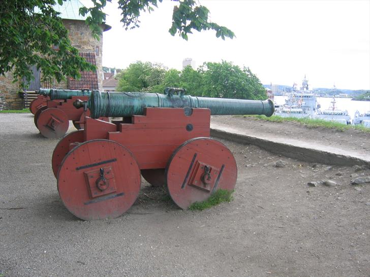 Akershus Fortress cannons