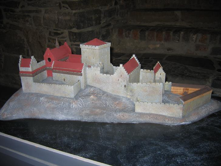 Model of Akershus Fortress