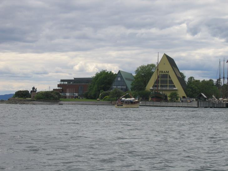 Fram Museum building from sea