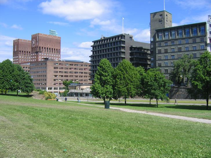 Oslo City Hall from the east