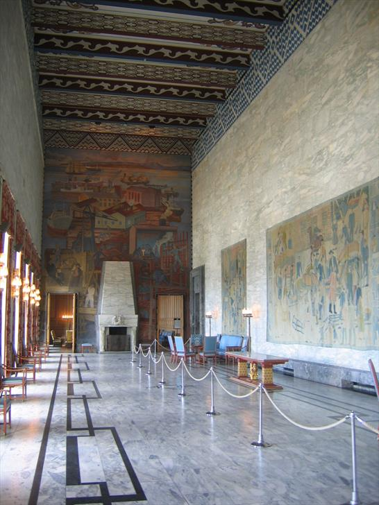 Oslo City Hall interior