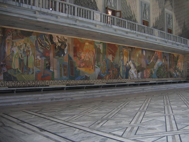 Radhushallen decorations