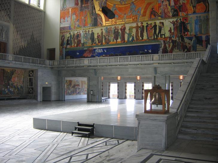 Radhushallen stairs