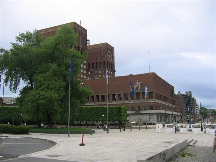 Oslo City Hall from the west