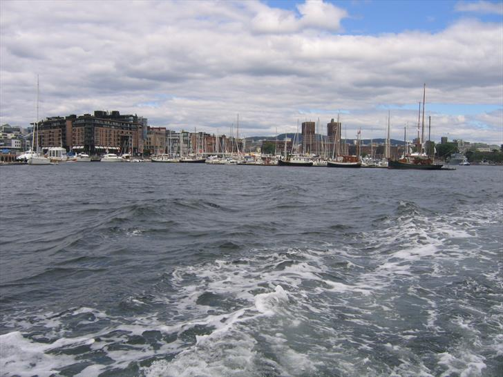 Oslo Harbour in the distance