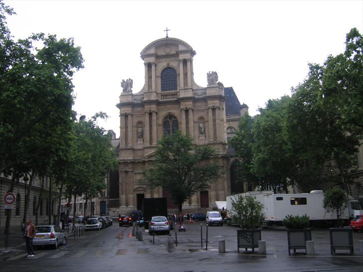 Saint Gervais Saint Protais Church and Place Saint-Gervais