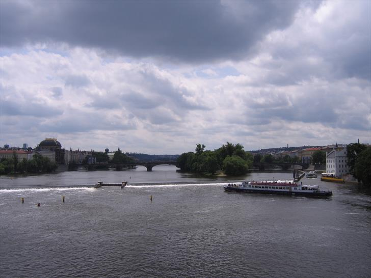 National Theatre and Legion Bridge from Charles Bridge
