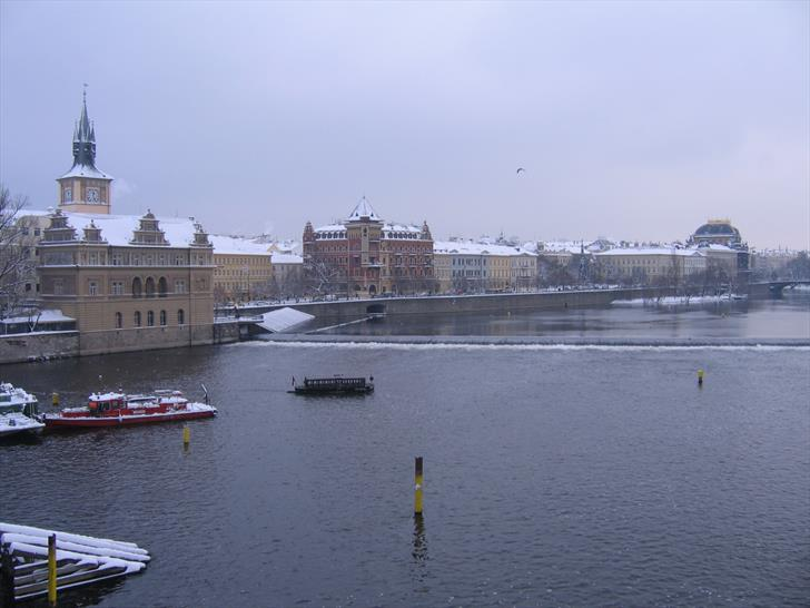 Smetana Embankment and National Theatre