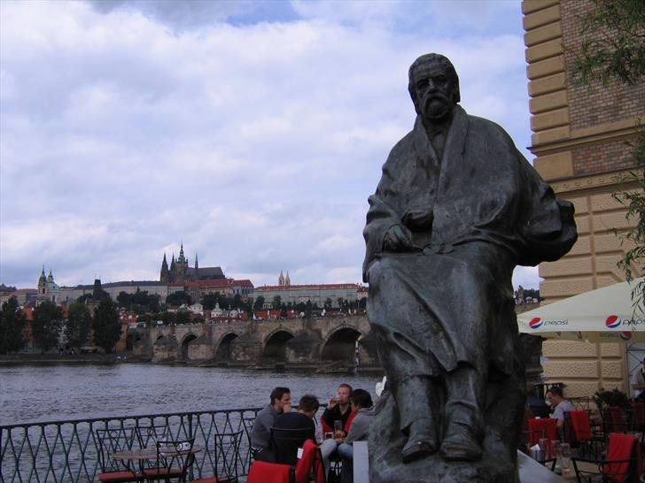 Smetana Monument in Prague