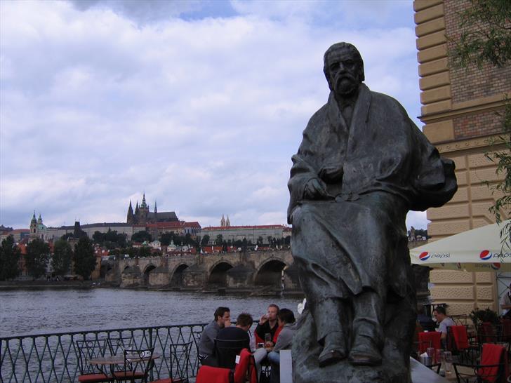 Smetana Monument in Prague