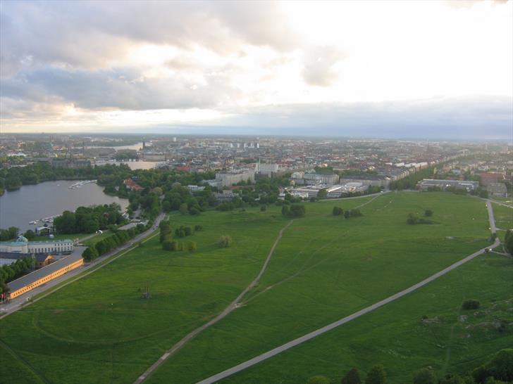 View from Kaknästornet