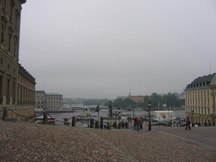 Slottsbacken at Stockholm Royal Palace