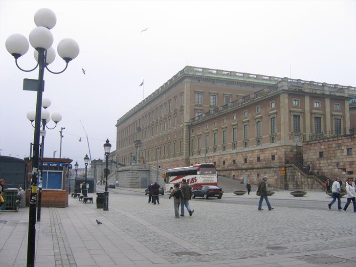 Stockholm Royal Palace from Slottskajen