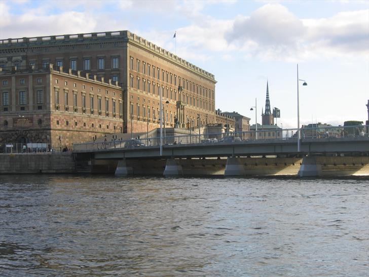 Stockholm Royal Palace and Strömbron