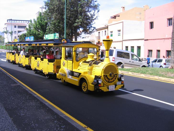 Loro Parque train