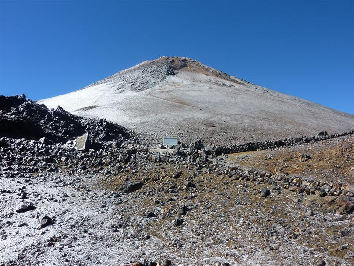 The junction between Refugio Altavista and Teide Cable Car