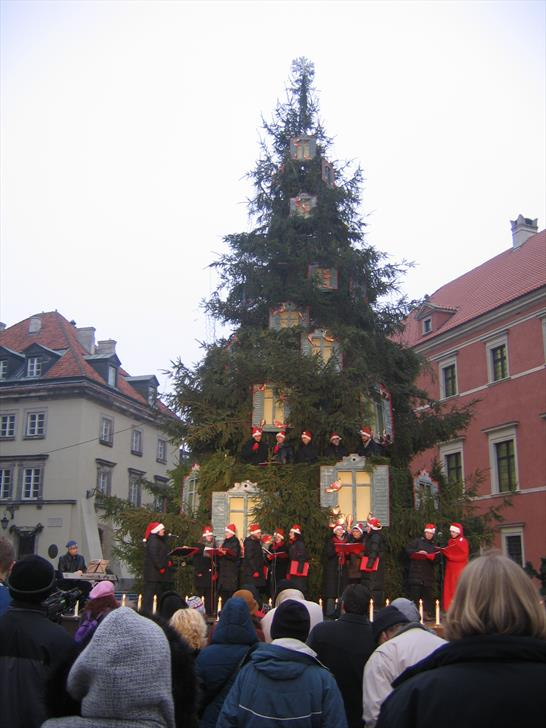 Christmas concert at Plac Zamkowy