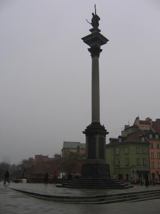 Sigismund's Column at Plac Zamkowy